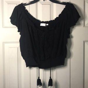 ASTR off shoulder blouse